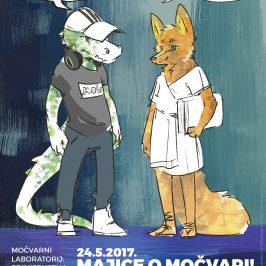 (Hrvatski) PRIMIJENJENA U MOČVARI #3: PREDSTAVLJANJE MAJICA O MOČVARI I KONCERTI UČENIKA / 24.5. od 19h